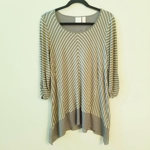 Chico's | stripped tunic